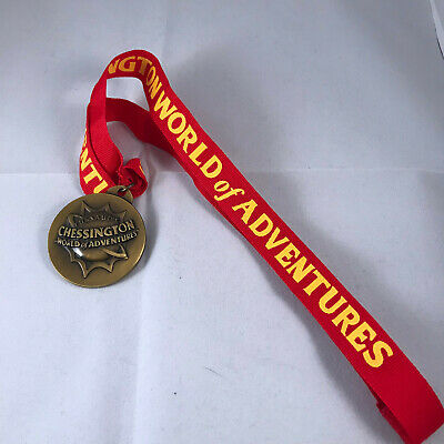 Chessington world of adventures pan for gold medal