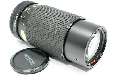 Canon FD fit Mitsuki 80-200mm f4.0 Zoom Lens fits FD mount