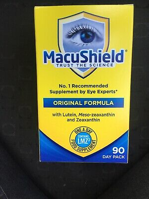 MacuShield Capsules Original formula packnof 90 New