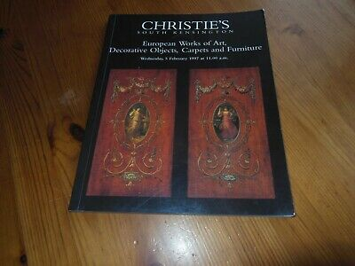 Christie's Auctions, South Kensington - European Works Of Art - 5Th Feb 1997