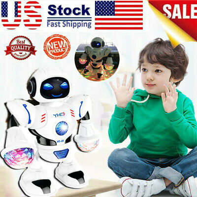 Toys For Boys Kids Toddler Smart Robot 2 3 4 5 6 7 8 9 10 11 Years Old Age Gift