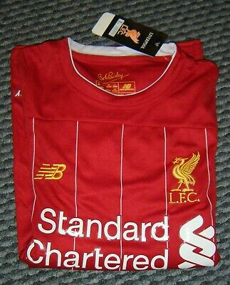 Liverpool Home Shirt 2019/20 (Size L) and Shorts