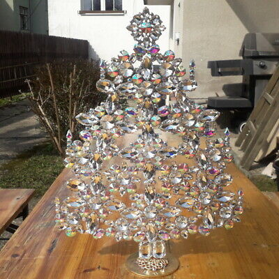 Extremly tall hand made Czech giant Christmas Tree