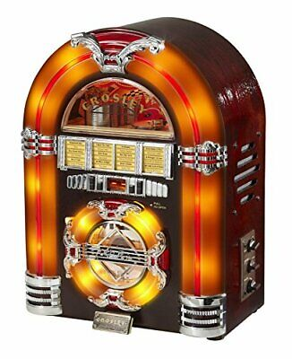 Crosley CR11CD Jukebox CD Player with Authentic Neon Lighting 88129 fromJAPAN