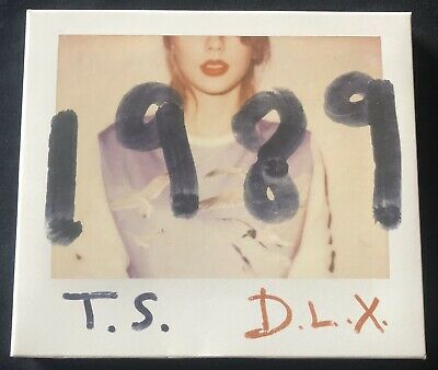 Taylor Swift 1989 Deluxe CD 2014 Big Machine BMRBD0550A Near MINT!!