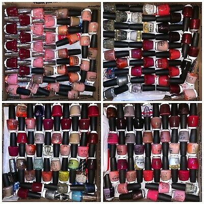 LOT 150 Bottles of OPI Nail Lacquer Polish EXACTLY SHOWN Full Size NEW Wholesale