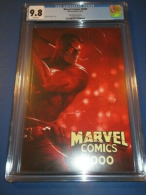 Marvel Comics #1000 Dell' Otto Daredevil Variant CGC 9.8 NM/M Gorgeous Gem Wow