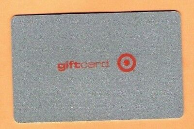 Collectible 2001 Target Gift Card - Silver Glittery Sparkles - No Cash Value