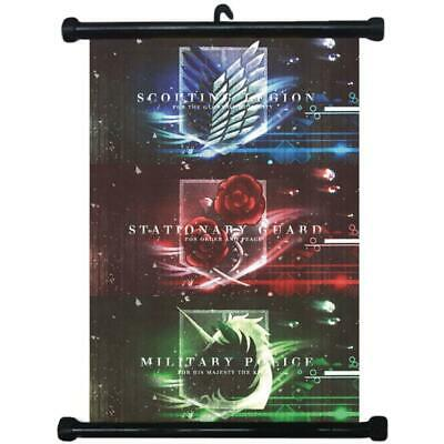 sp210597 Attack on Titan Japan Anime Home Decor Wall Scroll Poster 21 x 30cm