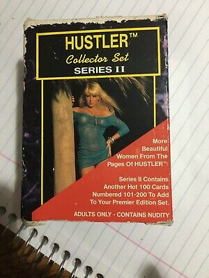 1993 Hustler Series II Card Set 101-200 Collector Cards Factory Box Set - Sealed