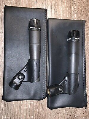 (2 Pack) Shure SM57-LC Cardioid Instrument Microphone