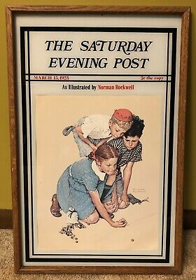 Norman Rockwell The Saturday Evening Post Famed Print