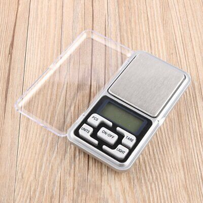 Stainless steel 500g 0.1g Digital Electronic LCD Jewelry Pocket Weight Scale YQ