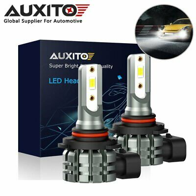 2x AUXITO H10 9145 CSP 4000LM LED Fog Light Bulb DRL Lamp 6000K Conversion Kit