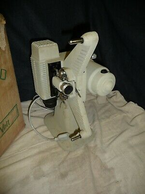 Cine film projector OSTRO Italian made in Italy 8mm+ lead & BOX