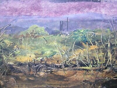 (follower of) JOHN PIPER, Mid 20th Century, TIN MINES, Painting, DOUBLE SIDED