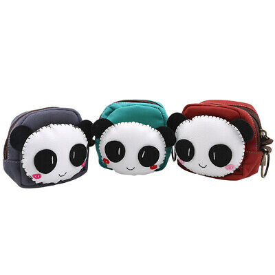 Canvas Cartoon Cute Animal Shape Pouch Purse Soft Buckle Wallet Pouch Bags Hot