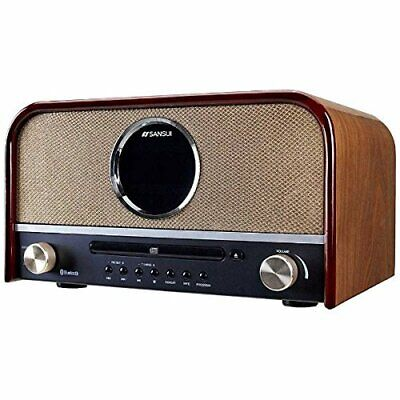 SANSUI CD stereo system SMS-800BT 29149 fromJAPAN