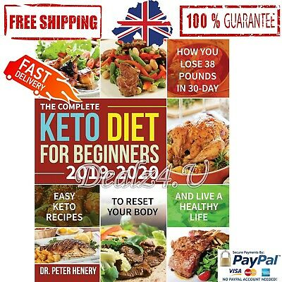 UK KETO DIET COOKBOOK For Beginners Ketogenic Diets Recipes Book Paperback NEW