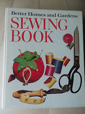 Vintage Better Homes and Gardens Sewing Book, Ring Binder Book FREE Shipping