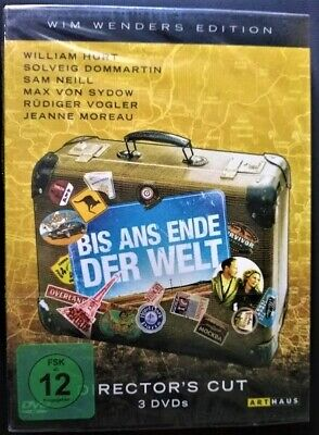 Until The End of the World: Director's Cut-3 DVDs-Wim Wenders-Region 2-PAL-New!