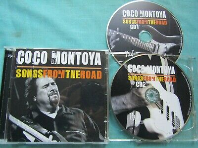 """Coco Montoya """"Songs From The Road"""" CD Album 2014 John Mayall"""