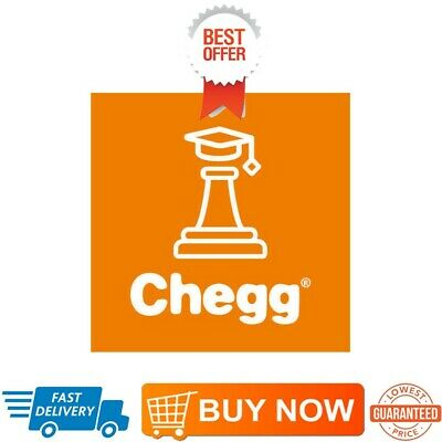 Chegg Study Premium Private Account 1 Month/29/30 days UnlimIted Access