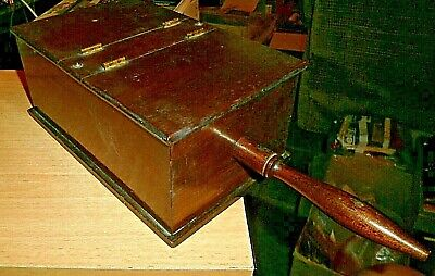 Vintage Wooden Freemason, Masonic Ballot Box With Handle