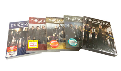 Chicago P.D. PD: Complete Series Seasons 1-5 (DVD, 27-Disc Set) 1 2 3 4 5 New