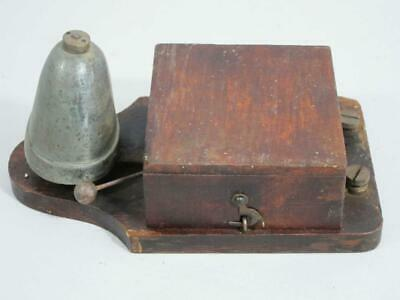 FINE VINTAGE ELECTRIC BELL 1900 door bell servant butler downton abbey shop    b