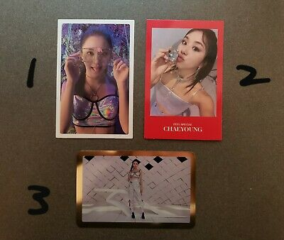 TWICE Chaeyoung Feel Special Photocard