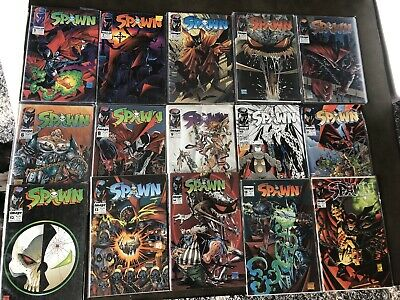 Spawn Comic Book Lot Issues #1-16 (No #7)