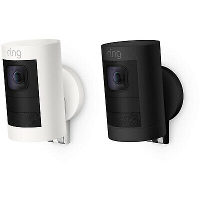 Ring Stick Up Cam Battery Indoor/Outdoor Security Camera - Two-Way Talk & Siren