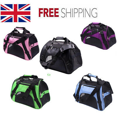 Pet Puppy Dog Cat Fabric Portable Carrier Crate Kennel Bag Large Cage Folding