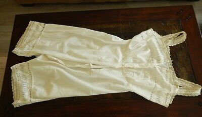 Vintage European One Piece Bloomers Chrocheted Excelent Condition