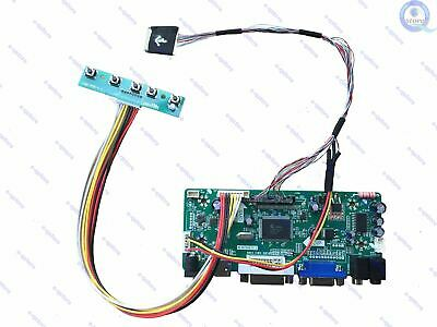(HDMI+DVI+VGA)LCD Controller Inverter Board Driver Lvds Diy Kit for LTN141BT08