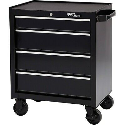 "TOOL BOX CHEST Metal ROLLING CABINET Wheel Cart Storage 4 Drawer Workshop 26""W"