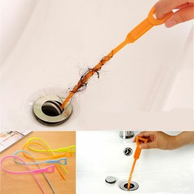 Drain Sink Cleaner Bathroom Unclog Sink Tub Drain Clog Hair Removal Stabs Tool J
