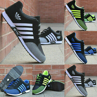 Mens Trainers Sports Shoes Athletic Shoes Gym Running Mesh Casual Sneakers UK