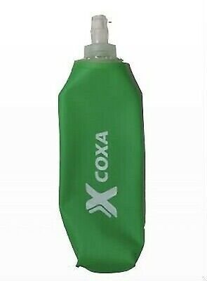 Coxa Carry Softflask 500 Compactable Hidratación Botella, 500ml Verde