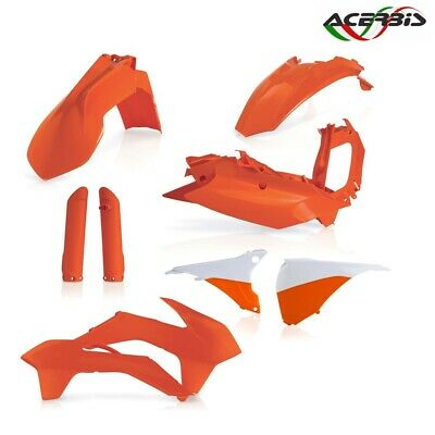 Acerbis Full Set Plastics Orange KTM 400 EXC 4T 2016-2016