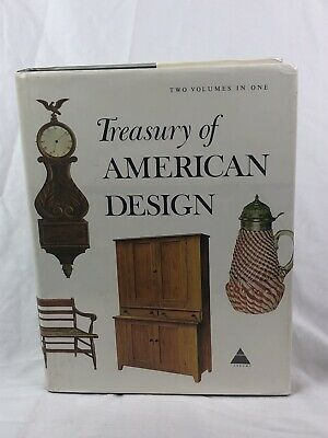 Treasury of American Design, Antiques Hornung & Abrams 1986-846 pages