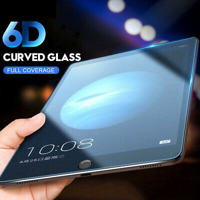 """Premium Tempered Glass Screen Protector For iPad 2 3 4 6t Air Pro 9.7"""" 10.5"""" 11"""""""