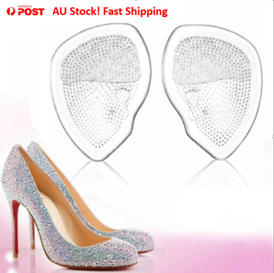 Special Price! 5 Pair Women Forefoot Pad High-heeled Shoes Pad Non-slip Cushion