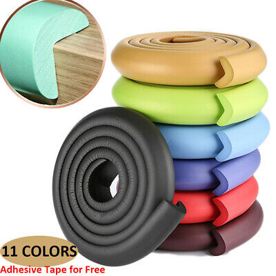 2M Baby Table Edge Corner Guard Strip Soft Foam Sponge Anti-crash Cushion Strip