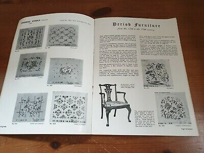 Vintage 1930s Penelope Tapestry Designs Catalogue Book Sewing Crafts Needlework