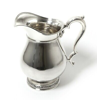 Prelude sterling SILVER jug (water pitcher) USA Meriden, International Silver Co