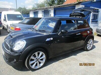 62 Plate Mini Sport 2Ltr Diesel Cooper 6 Speed In Black  With Leather Trim