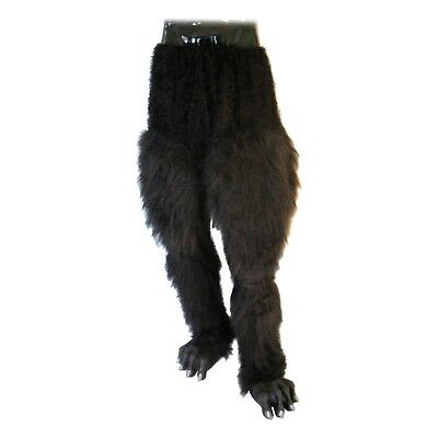 Wolverine Adult Werewolf Hairy Feet Foot Shoe Cover Halloween Costume Accessory