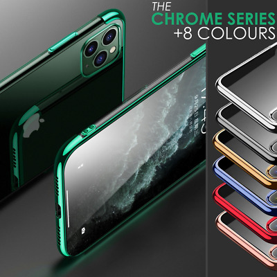 Case for iPhone 11 / 11 Pro Max Clear ShockProof Phone Silicone Protective Cover